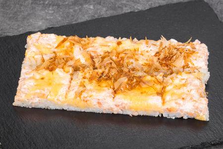 Запеченный ролл Японская пицца
