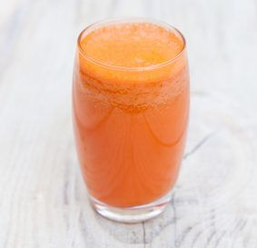 Фреш Морковный с базиликом