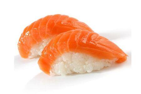 Суши с лососем, 2 шт.