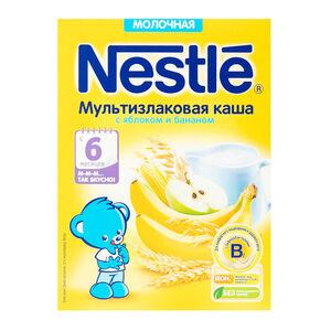 Nestle мультизлак яблоко-банан с 6 мес.
