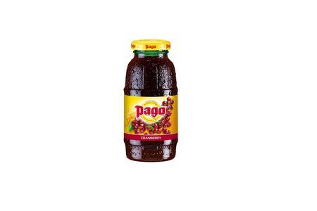 Сок Pago клюквенный