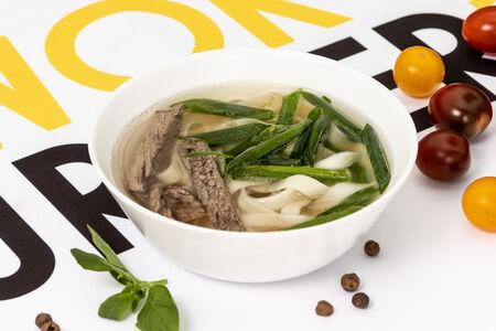 Суп лапша с говядиной