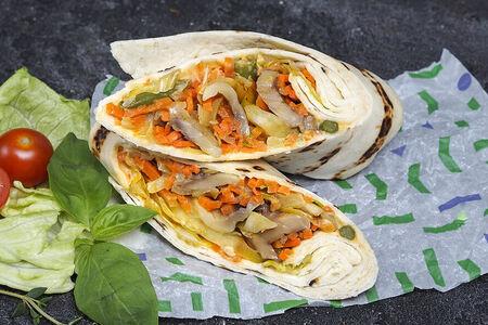 Тортилья с овощами