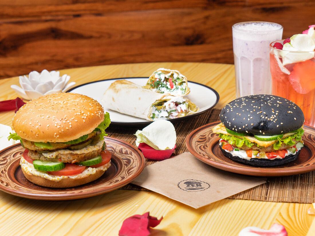 ZEN Vegan Burger