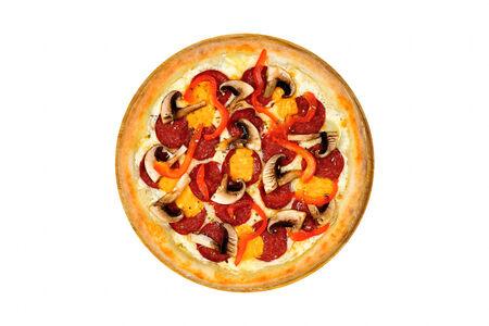 Пицца Санто на белом соусе