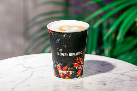 Кофе Малиновый латте M