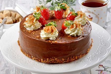 Торт Творожно-сырный пудинг