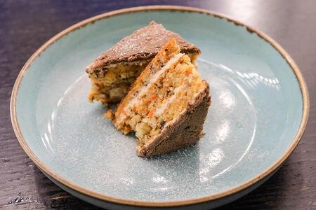 Морковный торт с крем чиз