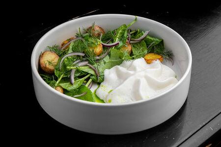 Салат Картофельный с копченой скумбрией