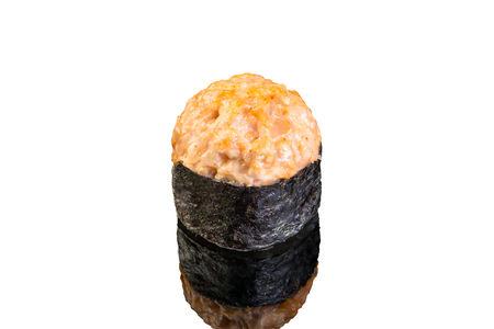 Ролл гриль с лососем