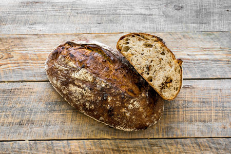 Хлеб Ореховый бездрожжевой