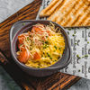 Фото к позиции меню Скрэмбл с томатами и сыром