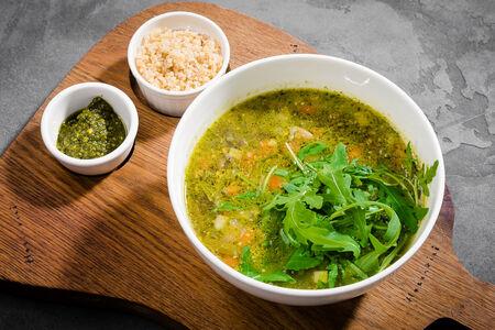 Суп Овощной минестроне с фрикадельками