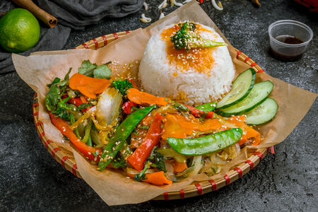 Ком Рау вегетарианский
