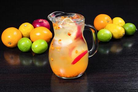 Лимонад Облепиховый с яблоком