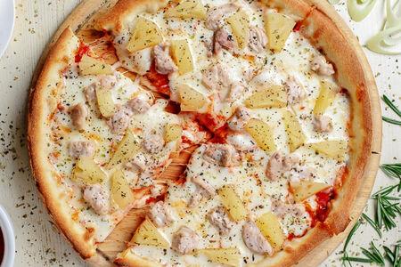 Пицца Индейка с ананасом