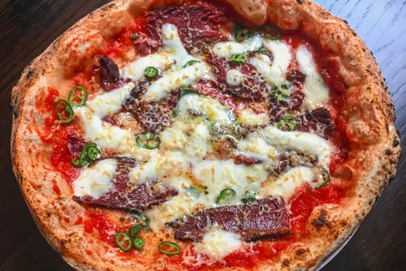 Пицца Пастрами