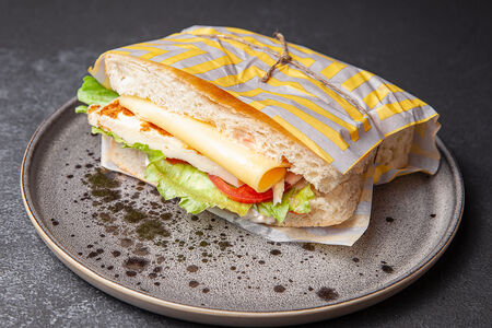 Сэндвич Омлет-сыр