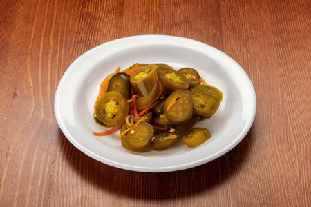 Халапеньо с корейской морковкой (200гр)