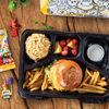 Фото к позиции меню Детский обед с бургером