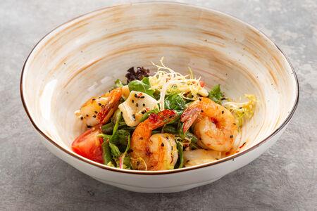 Салат Азиатский с морепродуктами