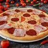 Фото к позиции меню Пицца с салями и беконом