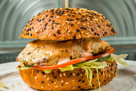 Бургер Стамбул с куриным филе