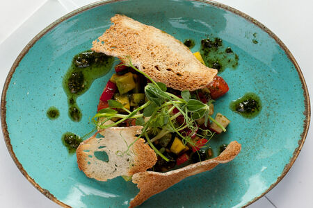 Тартар из овощей
