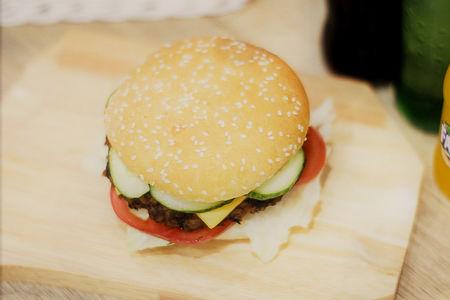 Бургер с говядиной