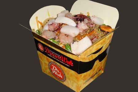 Вок Соба с морепродуктами