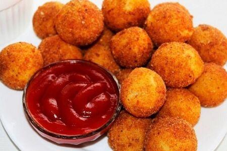 Картофельный шарики