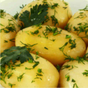 Картофель отварной