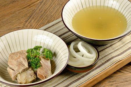 Суп Хашлама из телячьей грудинки