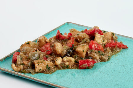 Говядина Терияки с овощами