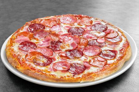 Пицца Мясное ассорти средняя