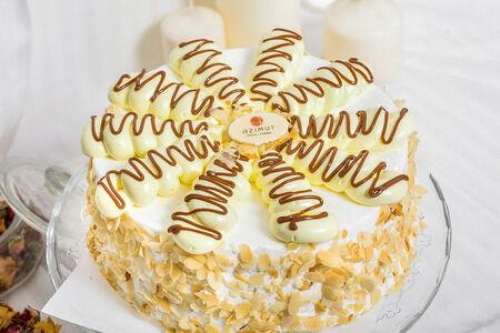 Торт Слоеный со сливками