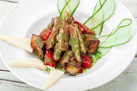 Тёплый салат Натахтари