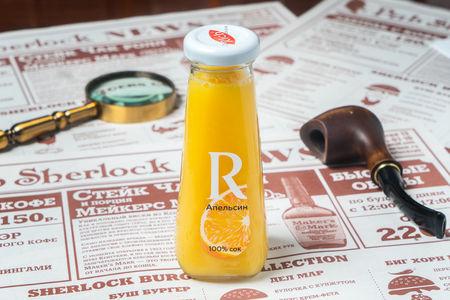 Апельсиновый свежевыжатый  сок