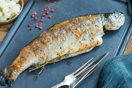 Речная рыба в печи