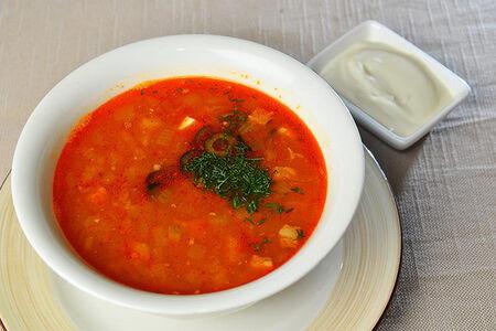 Суп Солянка мясная из дичи