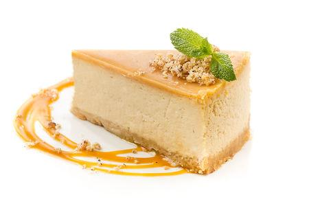 Десерт Карамельный чизкейк
