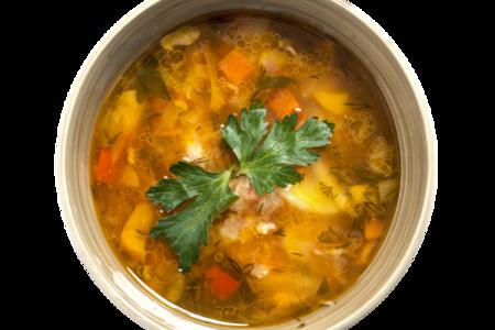 Суп Уха с семгой