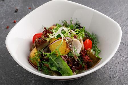 Салат с алтайскими груздями