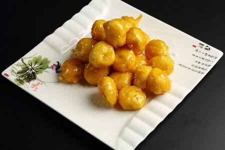 Десерт Ассорти фруктовое в карамели