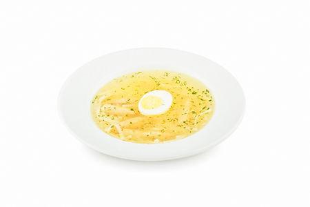 Суп Куриный с лапшой и яйцом