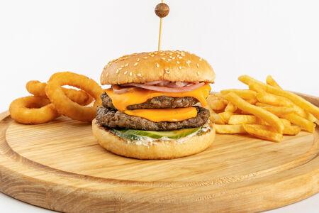 Чизбургер Стандарт двойной