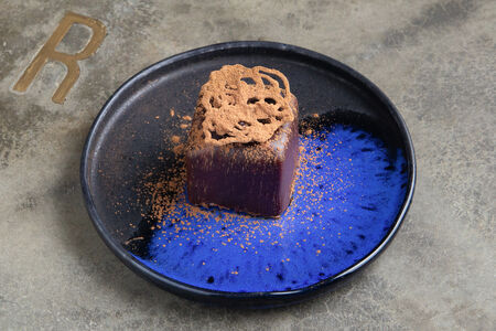 Десерт Шоколадный куб из бельгийского шоколада