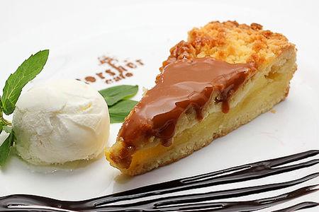 Пирог Карамельно-яблочный