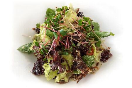 Микс салат с бастурмой