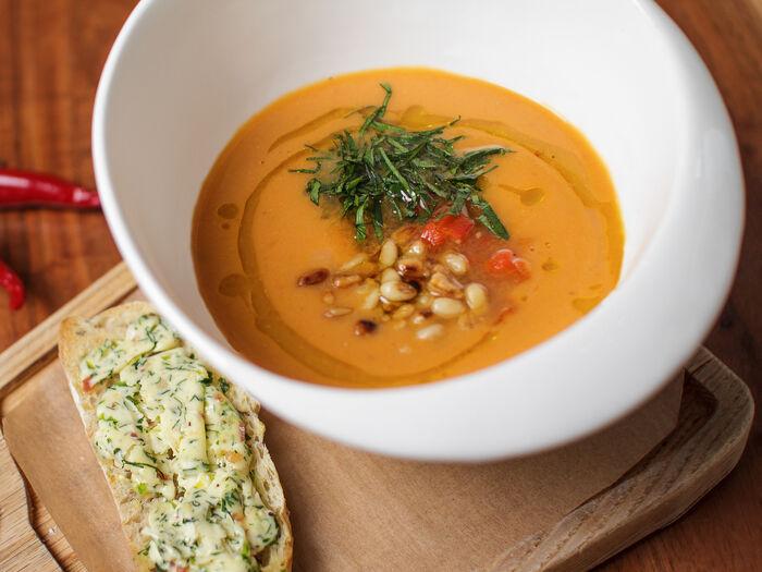 Суп из нута по-фламандски